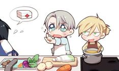 Read (Victuri) Peleados from the story Cómics de Yuri on Ice by (Flarmin) with reads. Anime Chibi, Manga Anime, Yuri On Ice Comic, Yurio X Otabek, Yuri!!! On Ice, Familia Anime, Yuri Katsuki, Ice Art, Fanart