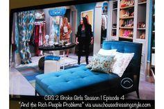 Caroline Channing's closet