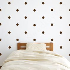 Polka Dot Wall Decals @Caroline Townsend may be fun for the little girls' room?