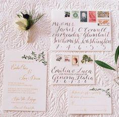 Calligraphy invites