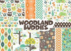 Woodland Buddies by Valerie Foster