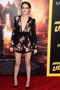 KRISTEN STEWART  August 18, 2015 At the American Ultra premiere in Los Angeles.