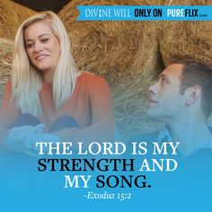 The Lord is my strength and my song! #DivineWillMovie    Amen, in Jesus name I accept my blessings of desires in abundance of immeasurable proportion, I accept salvation by confes sing with my mouth that you my Lord Jesus, King of kings are my Lord and Savior, my God, because of you father everything I speak comes to fruition commanded by the Holy Ghost, through the everlasting love of Jesus Christ, embraced in Gods mercy and grace. Amen...  Lisa Christiansen, child of the one true king…