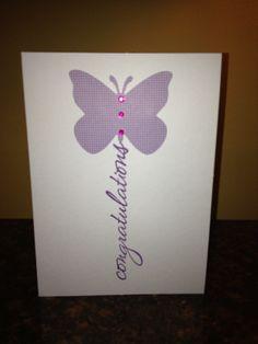 simple handmade card, multi-purpose