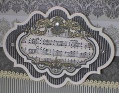 Image result for justrite stamps music notes cards