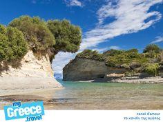 The island Corfu, Greece