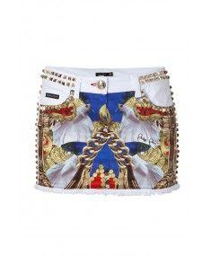 Philipp Plein - The Fact White Skirt