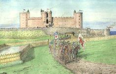 tantallon castle   Tantallon Castle