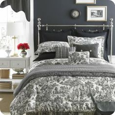 13 Made In The Usa Ideas Comforter Sets Toile Bedding Bed