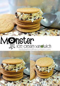 Monster Ice Cream Sandwich