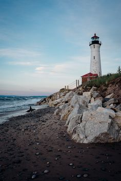 Crisp Point #Lighthouse - http://dennisharper.lnf.com/