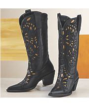 monroe and main gold underlay cowgirl boot