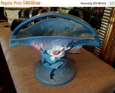 CyberSale ROSEVILLE MAGNOLIA Pottery Large by vintagesouthwest