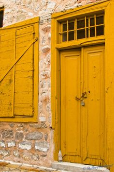 Old doorways of Hydra