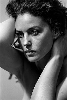 Monica Bellucci, Paris, France, 1999 // by Peter Lindbergh