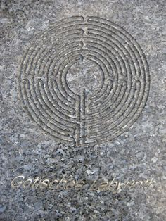 Muster ' Gotisches Labyrinth'Irrgarten-Labyrinth, Schlosspark Schönbrunn, 1130 Wien