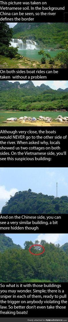 China and Vietnam.