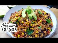 One Pan Mexican Quinoa   Healthy Meal Prep - What's For Din'? - Courtney Budzyn - Recipe 61 - YouTube