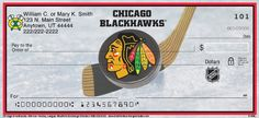 Chicago Blackhawks(R) NHL(R) Personal Checks