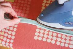 use steam a seam when making piping