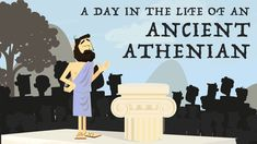 YouAccel Shared a Video: A day in the life of an ancient Athenian - Robert Garland 6th Grade Social Studies, Social Studies Activities, Teaching Social Studies, Teaching History, History Classroom, History Education, History Teachers, Athenian Democracy, Ancient Greek Democracy