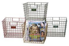 Wire Locker Baskets, Asst. of 4 on OneKingsLane.com