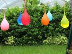 Water Balloon Pinata {party games}