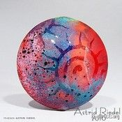 Sun by astrid riedel. She is a glass GENIUS. So pretty!