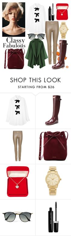 """""""Classy and Fabolous"""" by patguerra on Polyvore featuring moda, See by Chloé, Hunter, The Row, Mansur Gavriel, Alexa Starr, Michael Kors, Ray-Ban y Marc Jacobs"""