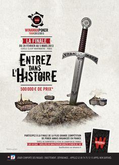 #WiPT - La grande finale du Winamax Poker Tour se déroulera à Paris, du 28 février au 5 mars 2013, dans le cadre prestigieux du Cercle Clichy Montmartre ! #Winamax #poker