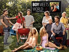 Boy Meets World Reunion. Excited for Girl Meets World!!