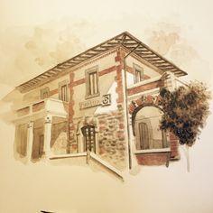 Albania, Watercolors, Louvre, Painting, Art, Art Background, Water Colors, Painting Art, Kunst