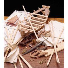 Bounty's Jolly Boat Model by Garrett Wade