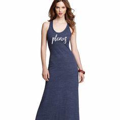 Plexus Maxi Dress -- Plexus Swag