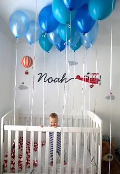 48 Ideas Birthday Pictures Ideas For Boys Balloons For 2019 Boys 1st Birthday Party Ideas, 1st Birthday Photoshoot, 1st Birthday Pictures, Baby Boy First Birthday, Birthday Fun, First Birthday Parties, 1st Birthday Balloons, Birthday Morning, Decoration Photo