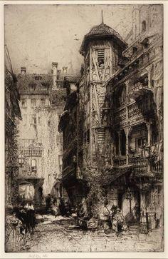 Hedley Fitton (1859-1929) British Artist.