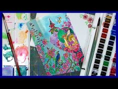 Stamp School: Beginner Scene Stamping Cutaway Card & Watercoloring Tips - YouTube