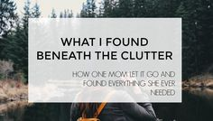 What I Found Beneath the Clutter — The Purposeful Housewife