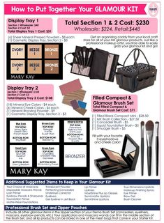 Mary Kay display trays for parties Mary Kay Starter Kit, Selling Mary Kay, Mary Kay Party, Beauty Consultant, Independent Consultant, Mary Kay Ash, Mary Kay Cosmetics, Mary Kay Makeup, Makeup Tips