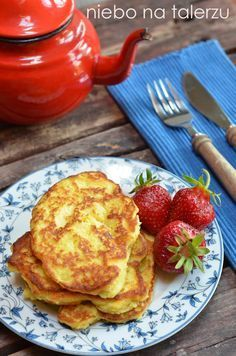 niebo na talerzu: Placki z jabłkami z kaszy jaglanej na oleju rzepakowym