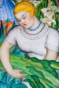 Gardeners Intuition, for more, please visit: http://www.painting-in-oil.com/artworks-Rivera-Diego.html