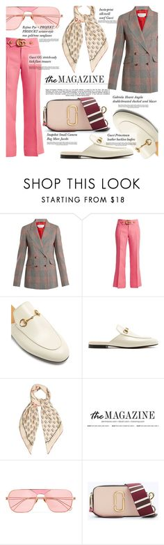 """Flats"" by merrygorounds ❤ liked on Polyvore featuring Gabriela Hearst, Gucci, Rejina Pyo, Marc Jacobs, Whiteley, polyvoreeditorial, topset, PolyvoreMostStylish and fancyflats"