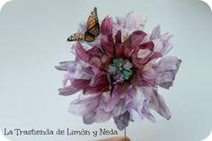 El taller de flores de sospeso de la Showroom Manos con Arte 2013