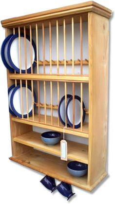 The Plate Rack Co. - Hand Crafted Bespoke Kitchen Furniture  sc 1 st  Pinterest & Award Winning solid Wood pine plate dish cup rack shelf dining ...