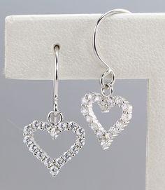 925 silver earrings, cubic zirconia stone, OEM ok, item number: BTER011
