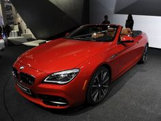 BMW 6 series convertible at the North American International