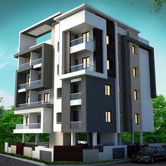 Facade Architecture, Residential Architecture, Facade Design, Exterior Design, Modern Villa Design, Contemporary Building, House Front Design, Dream House Exterior, Architect House
