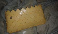 Candy wrapper bag. Details here: https://www.facebook.com/handmadeclao