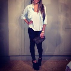 love, minus the shoes. Hells and I dont go together