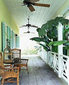 One day i will have a back veranda like this leading from the master suite.